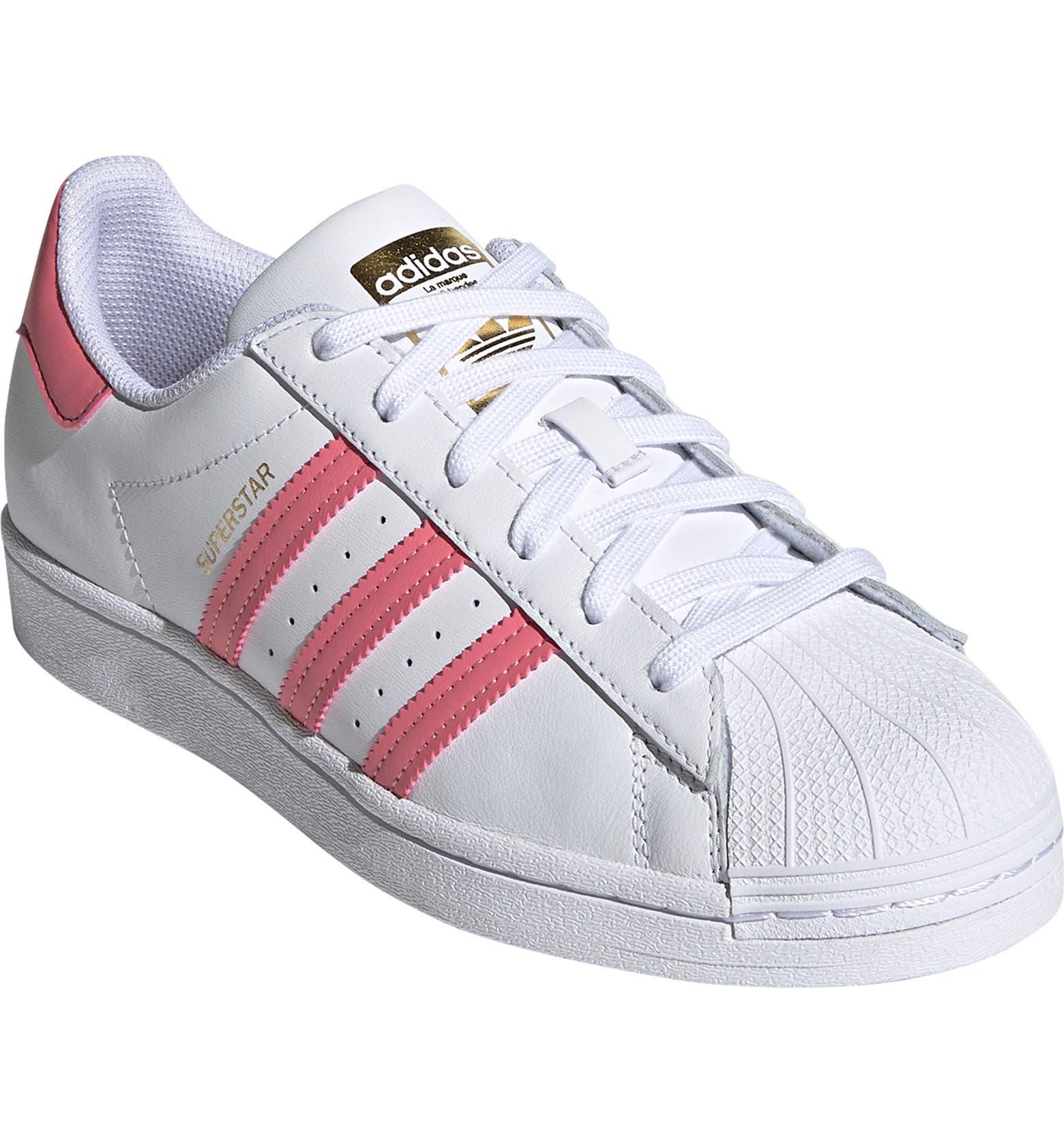 tenis zapato Adidas superstar rosa