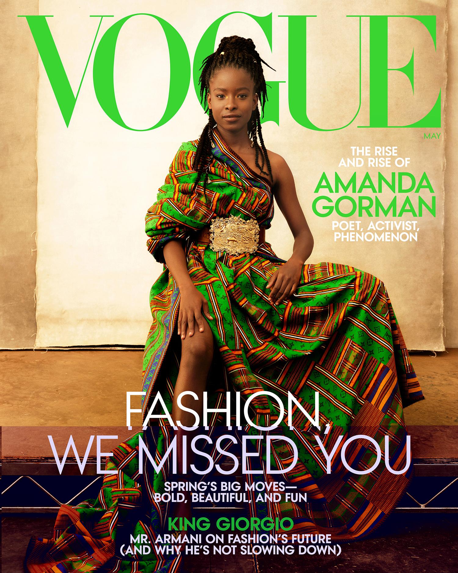 Amanda Gorman for Vogue - DO NOT REUSE