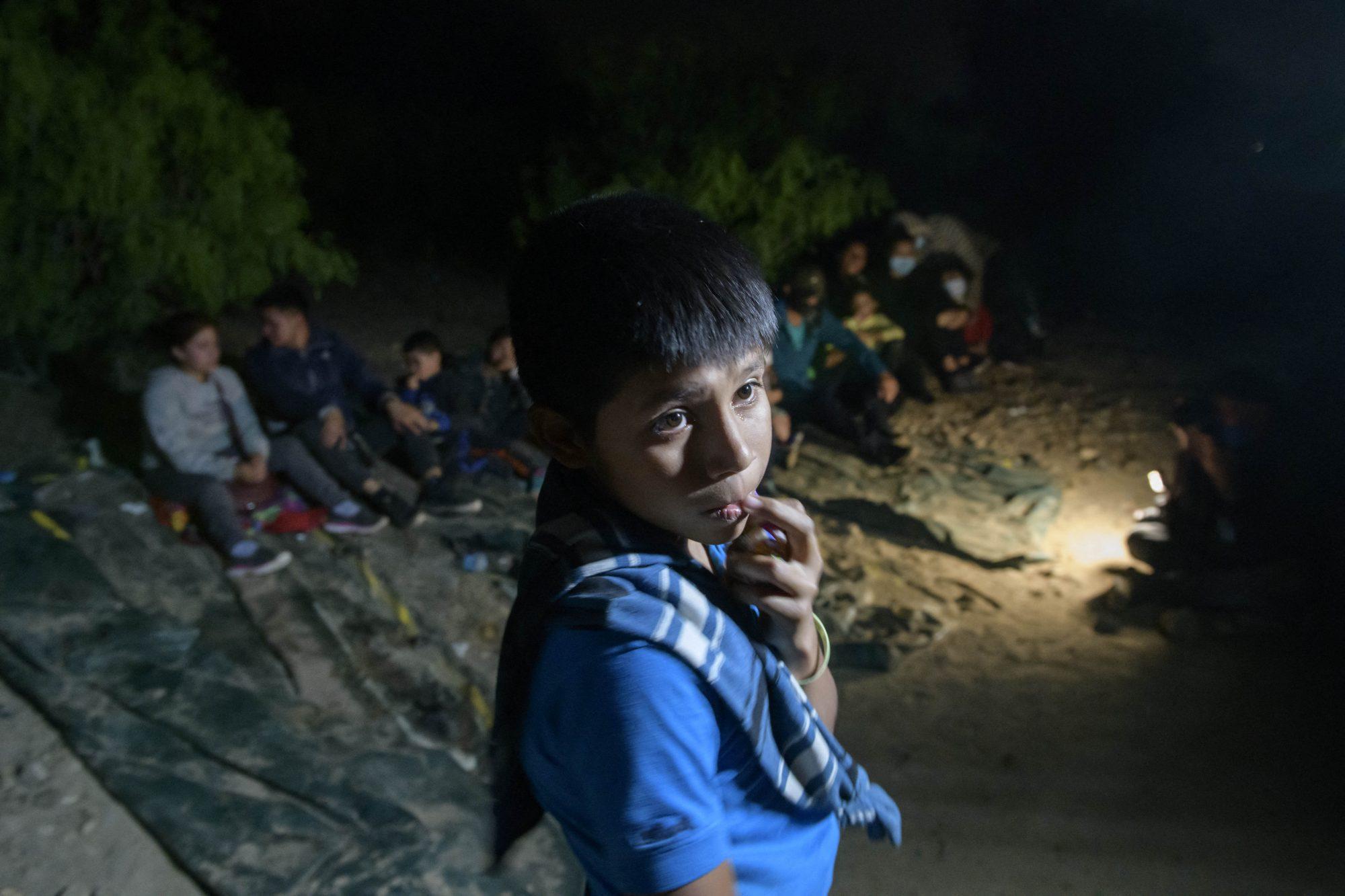 Niños inmigrantes frontera