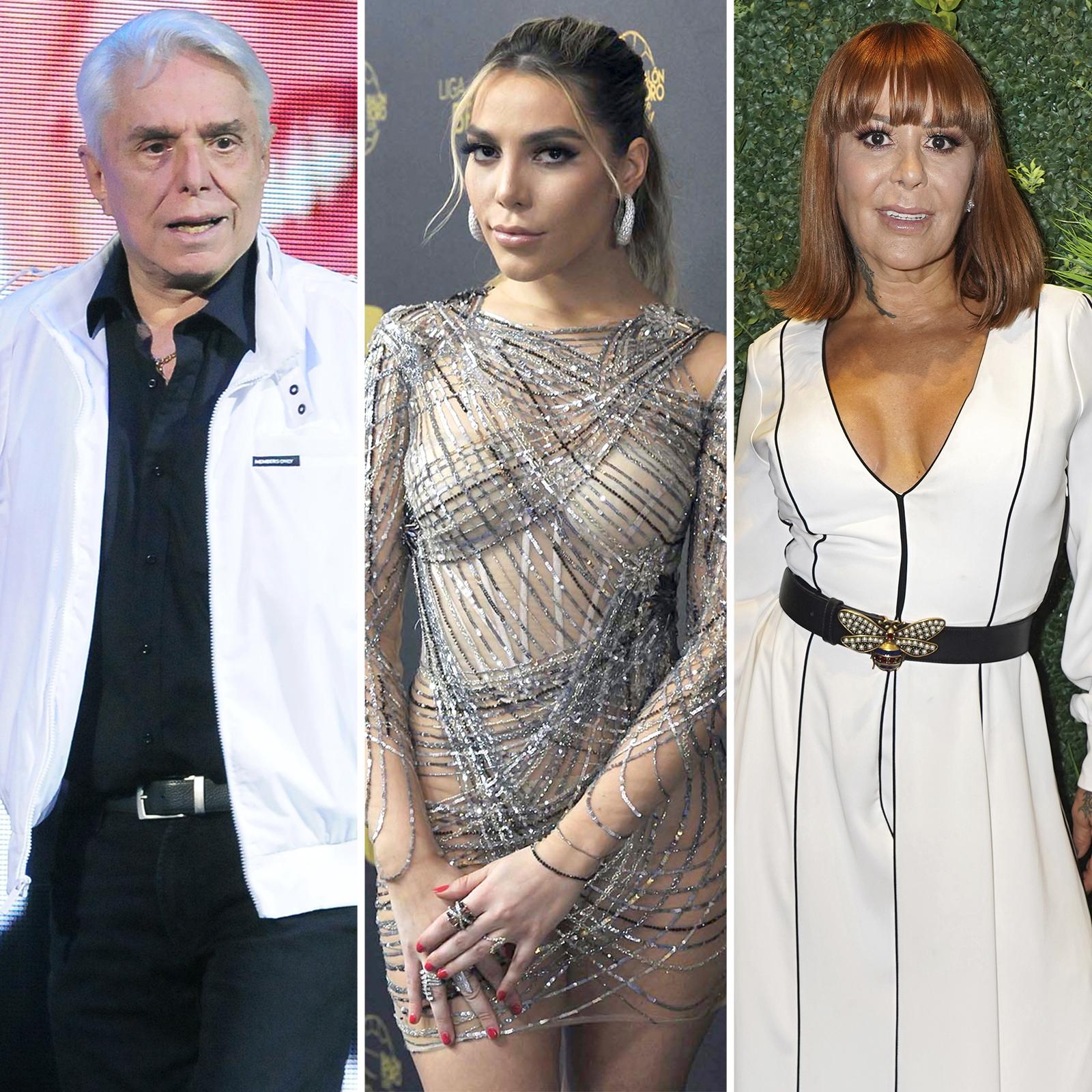Enrique Guzman, Frida Sofia, Alejandra Guzman