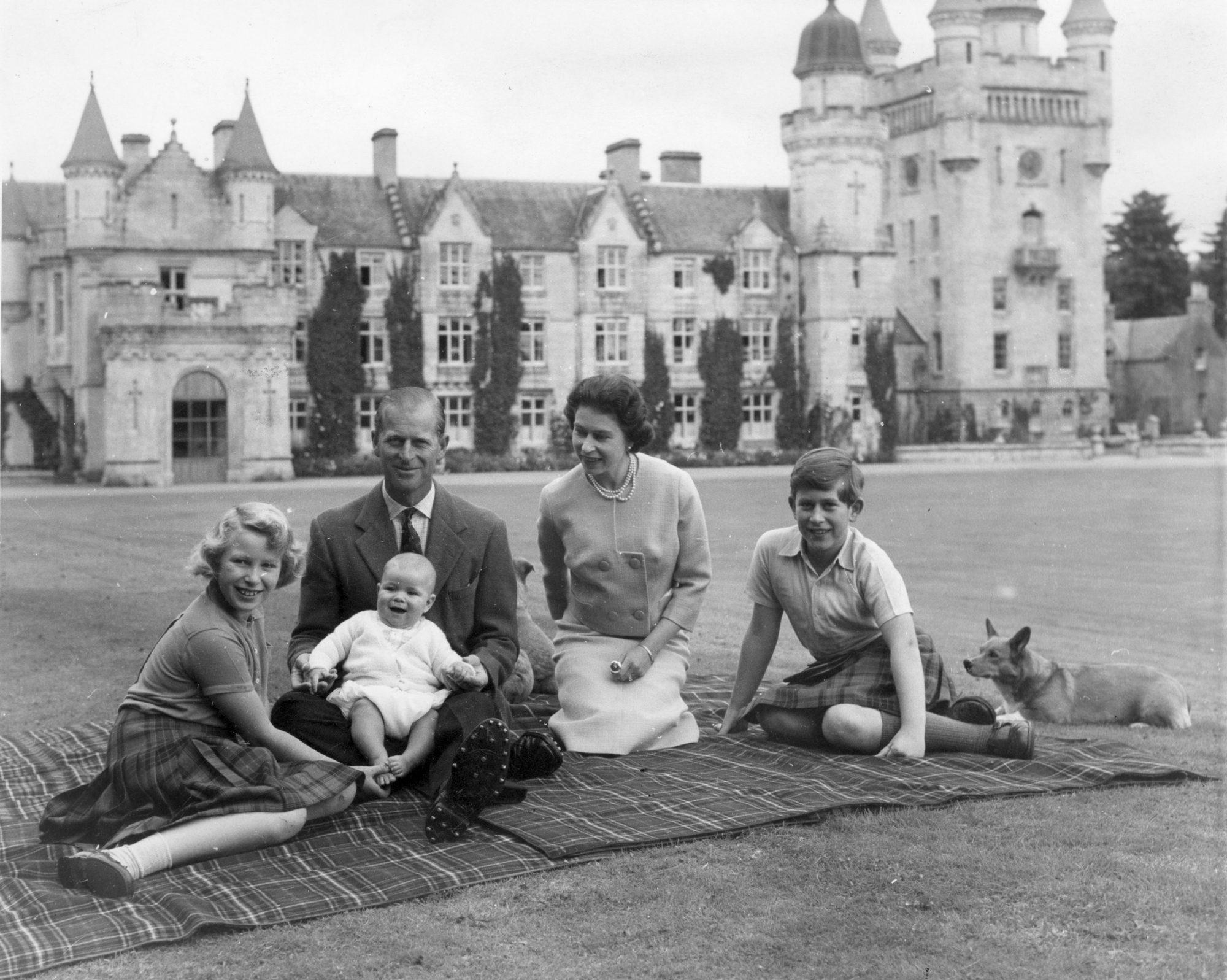 Reina Isabel Principe Felipe
