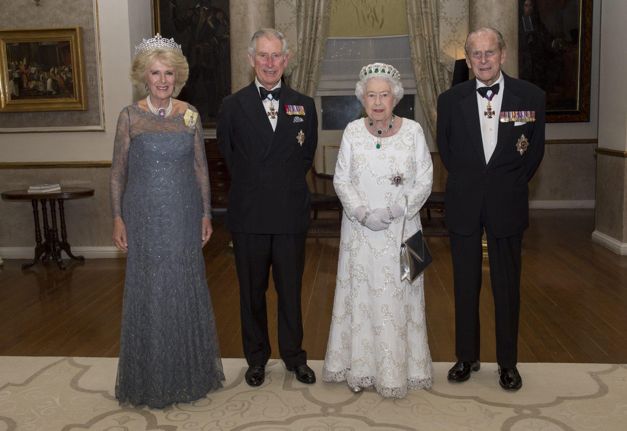 Queen Elizabeth Prince Phillip Prince Charles
