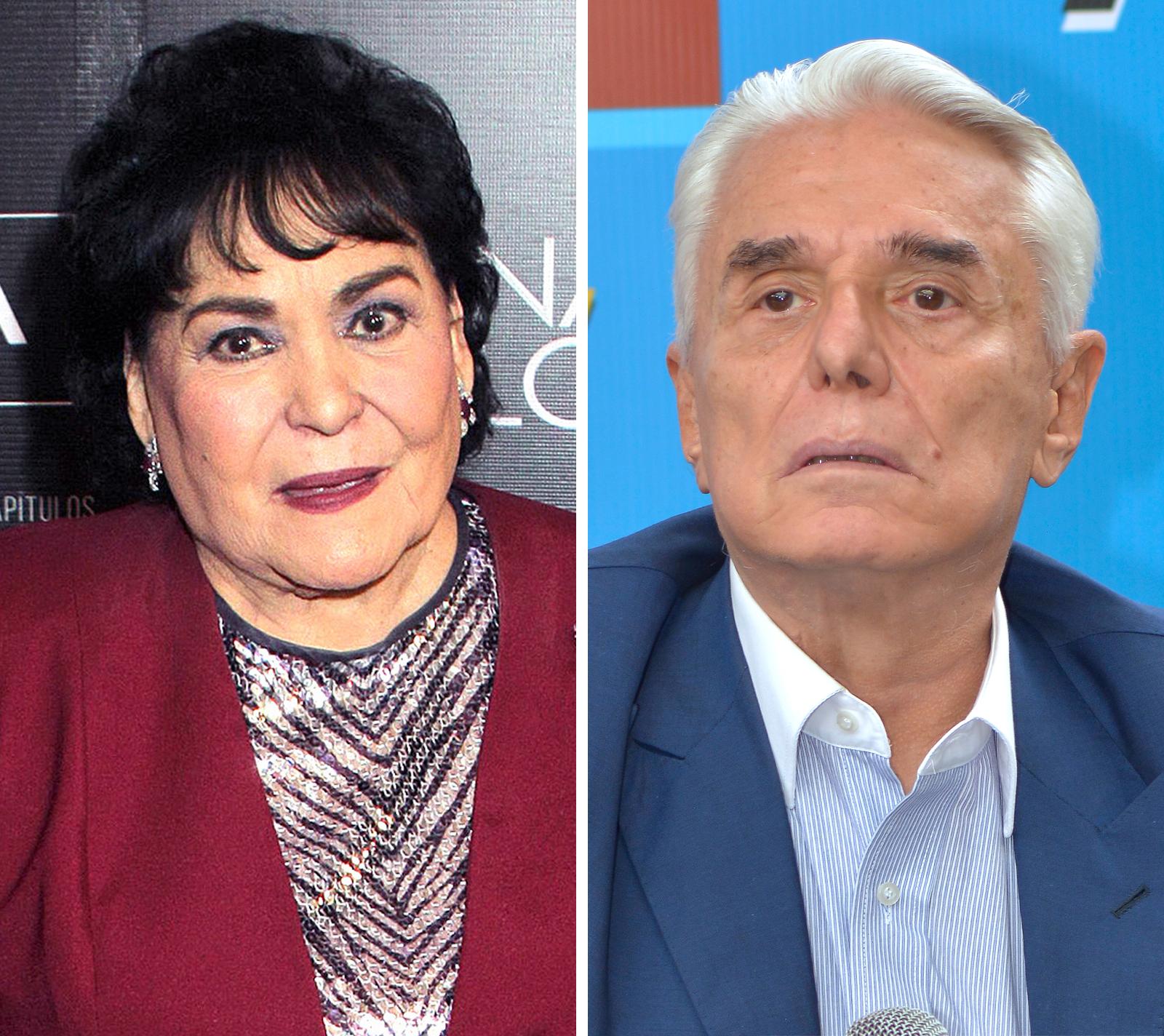 Carmen Salinas y Enrique Guzmán