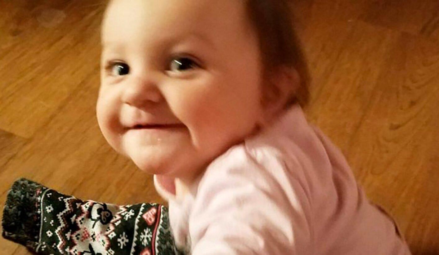 Emma Mae bebe congelada