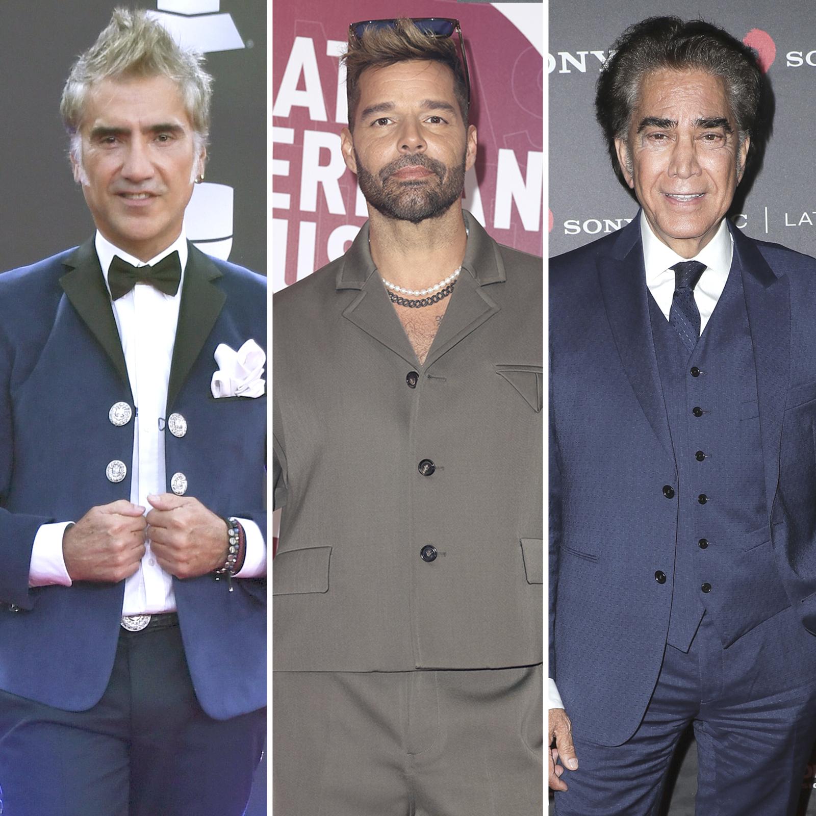 Alejandro Fernandez, Ricky Martin y Jose Luis Rodriguez