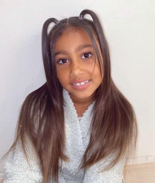 Kim Kardashian hija North maquillista