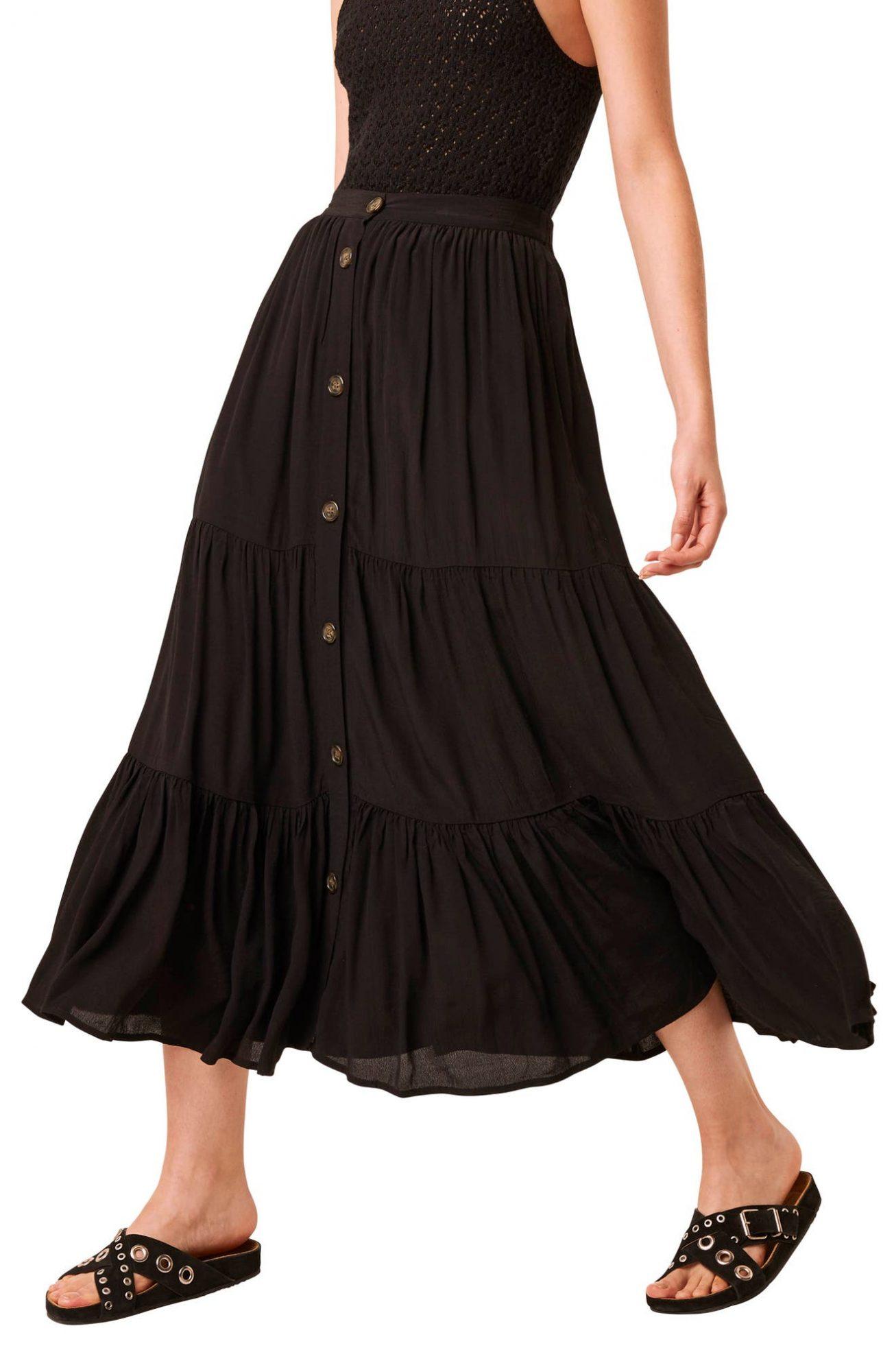 falda, saya, moda, French Connection