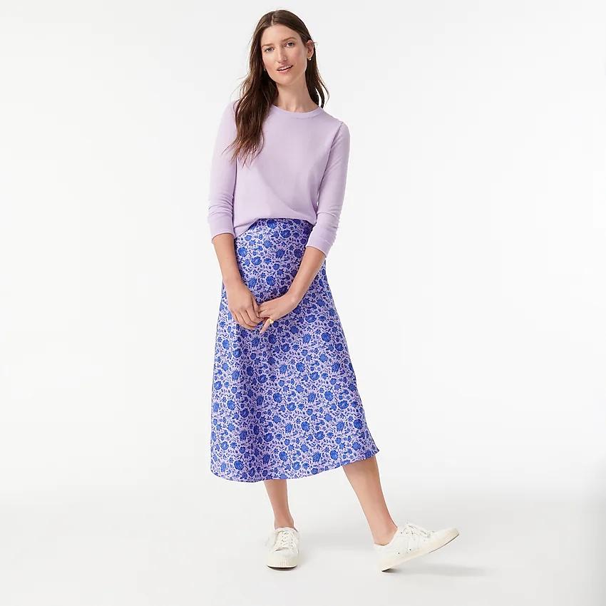 falda, saya, moda, J Crew
