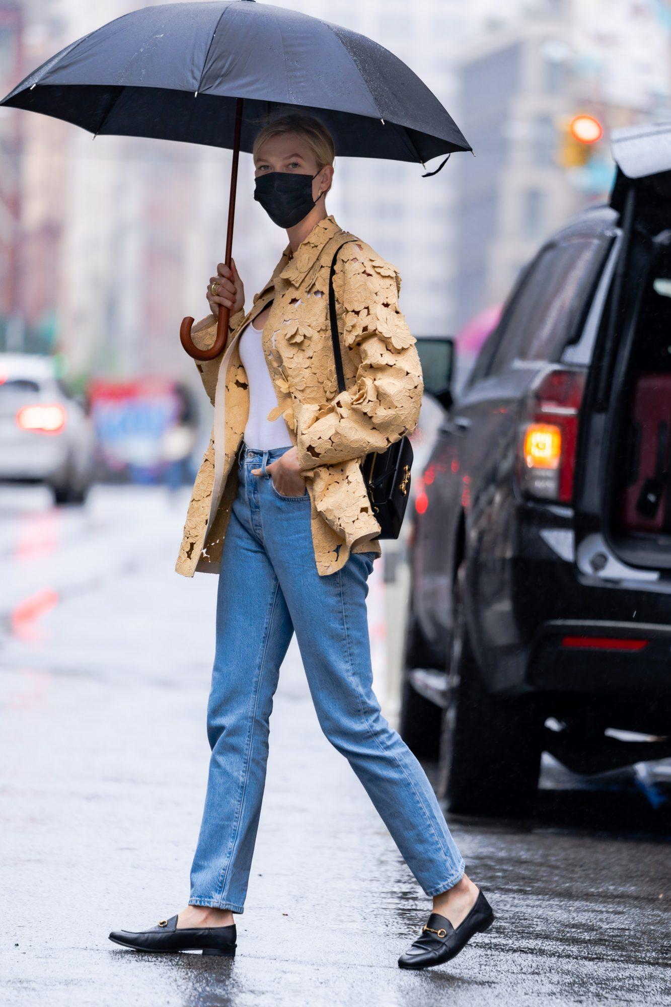 Karlie Kloss, look del dia, Nueva York