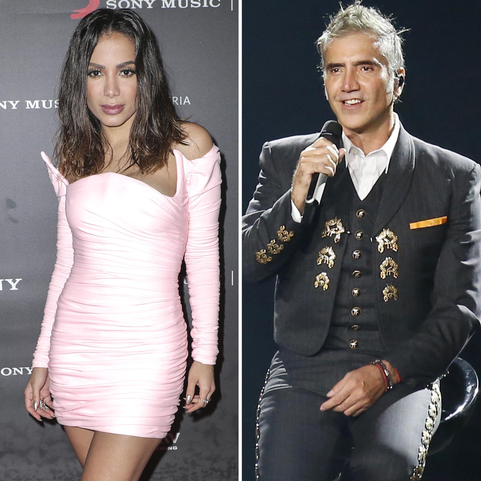 Anitta y Alejandro Fernandez
