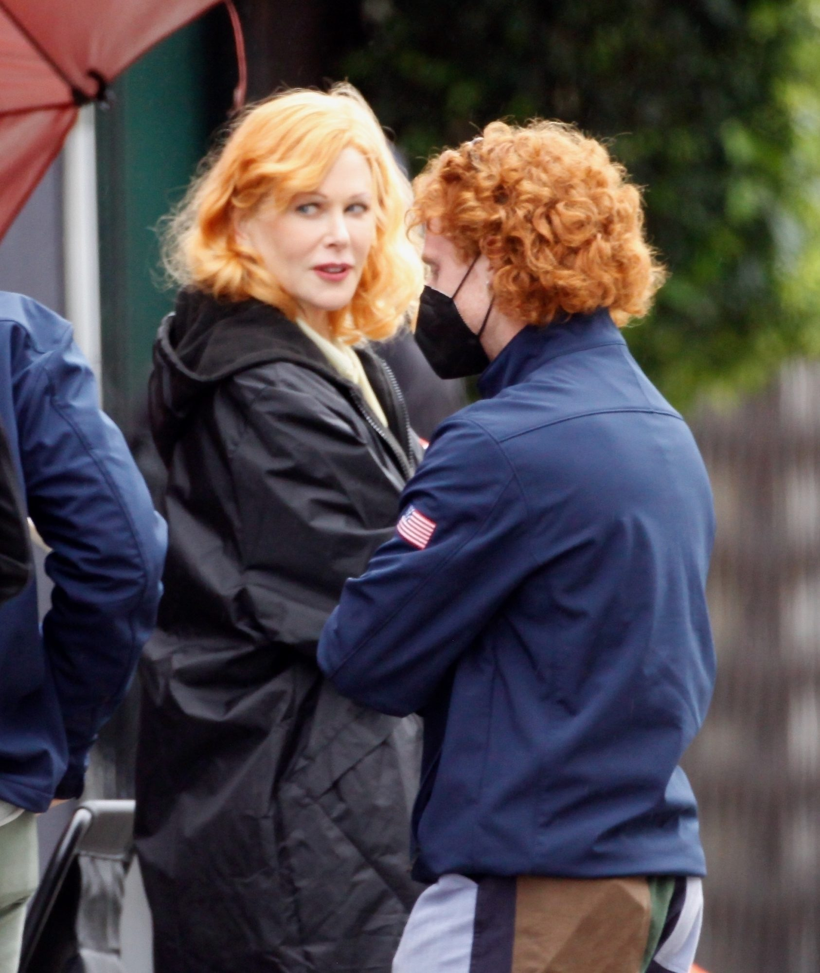 Nicole Kidman Transforms into Lucille Ball on the Set of 'Being The Ricardos'