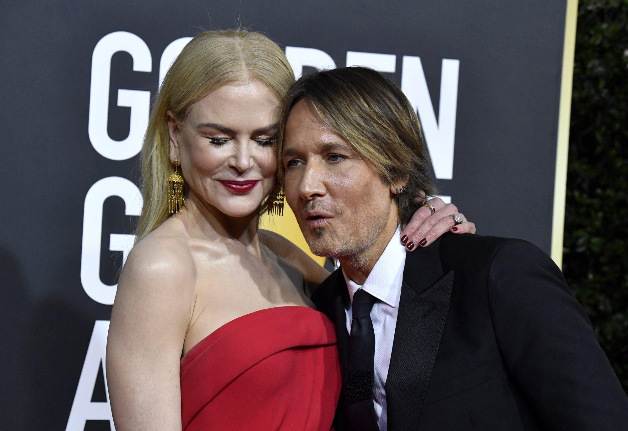 Nicole Kidman consiente a su esposo con masajes
