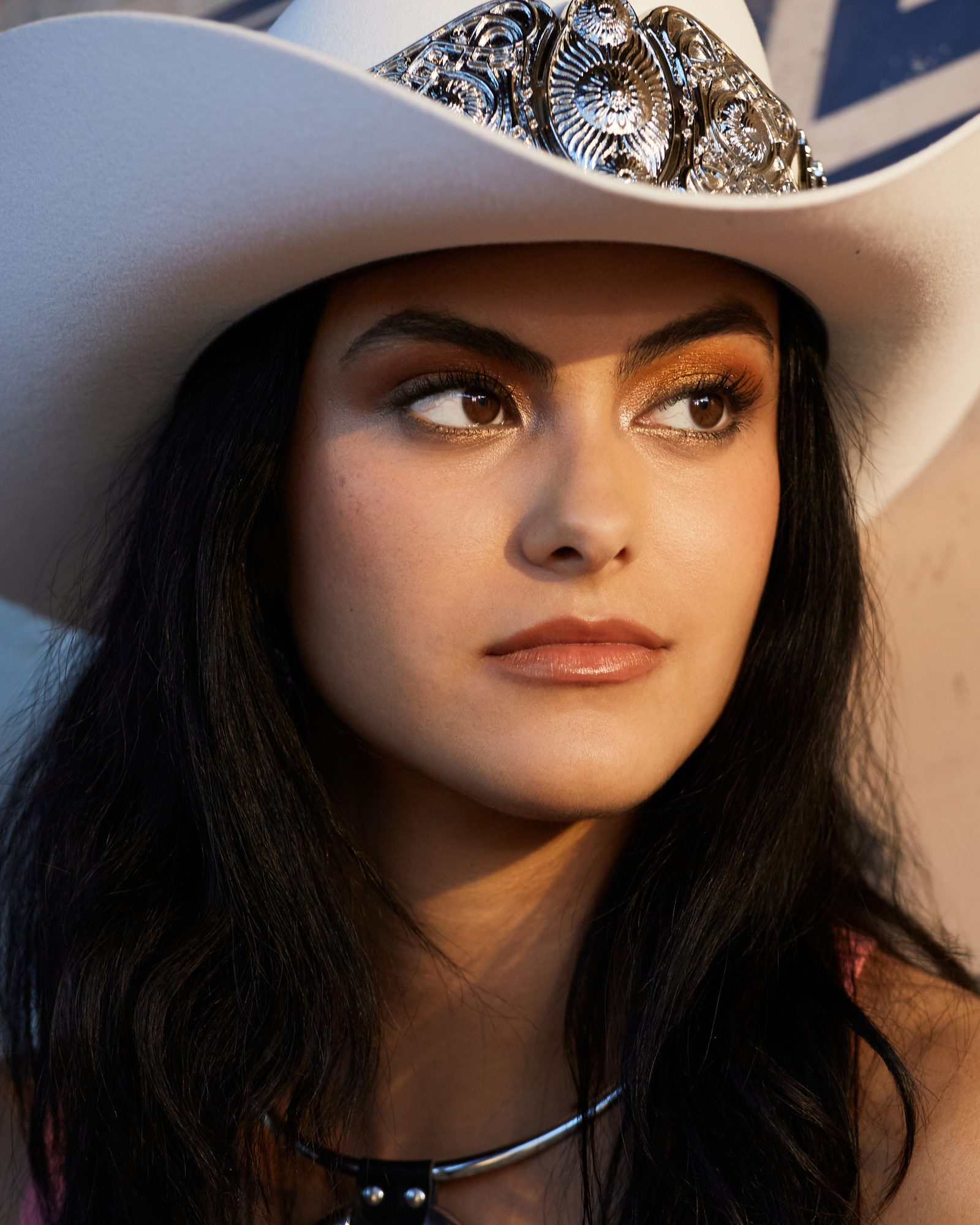 Camila Mendes Cowboy hat
