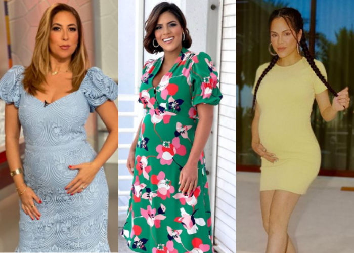 Estilo famosas embarazadas maternidad