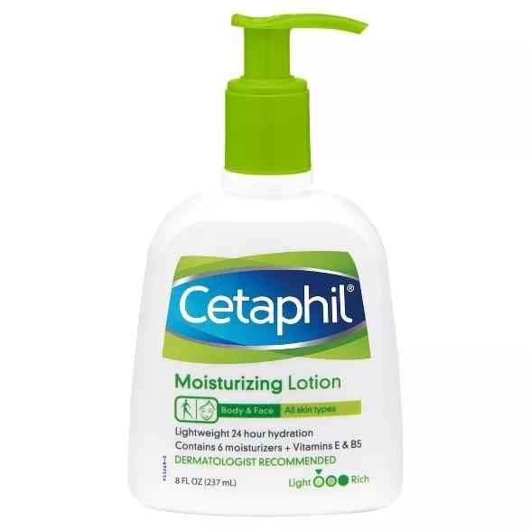Humectante, hidratante, Cetaphil