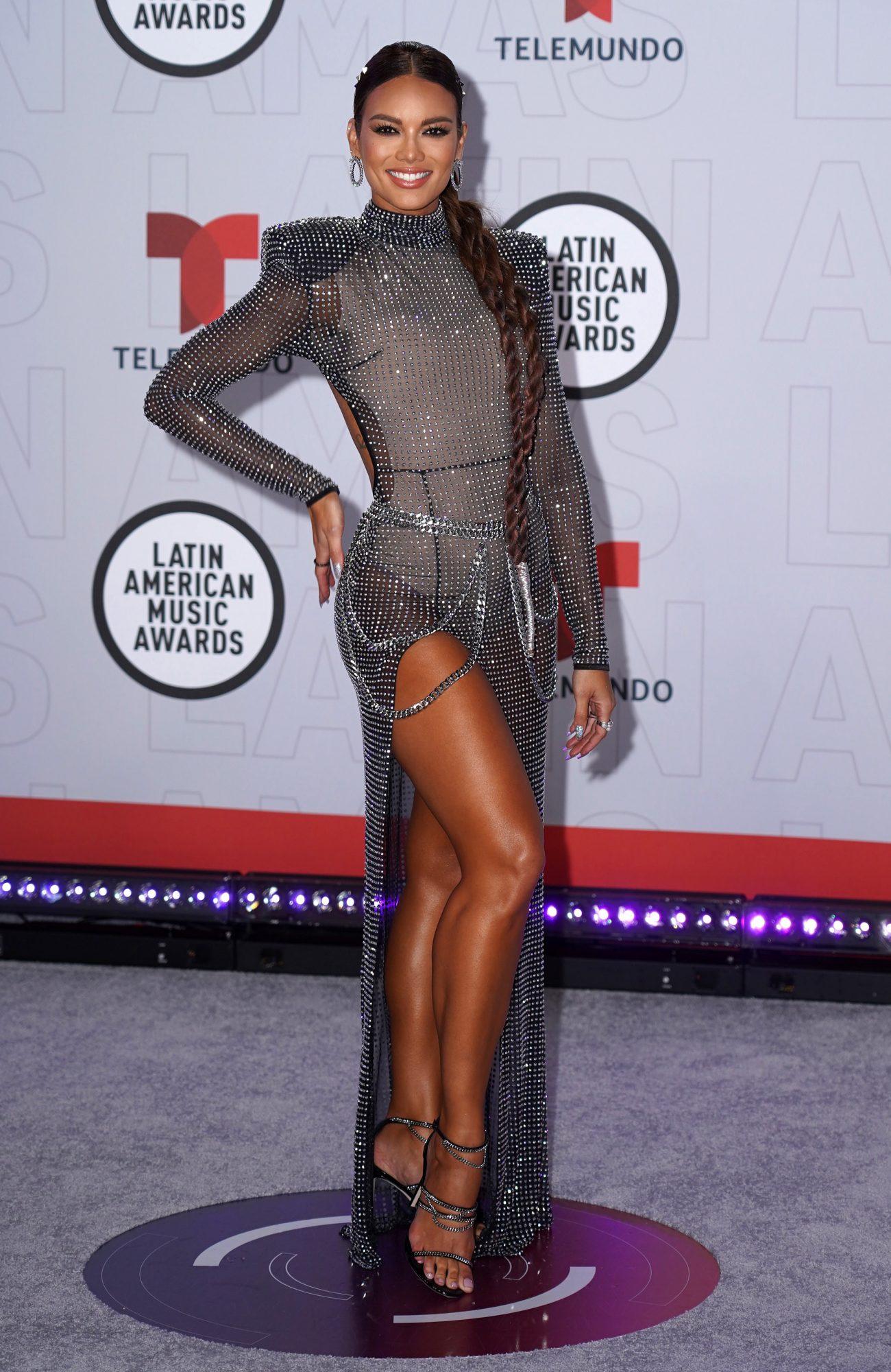 Zuleyka Rivera, Latin American Music Awards, vestido, alfombra