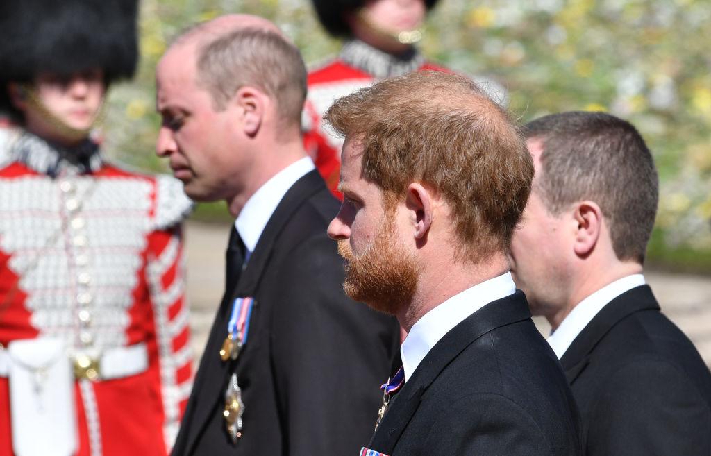 William Harry funeral abuelo príncipe Felipe