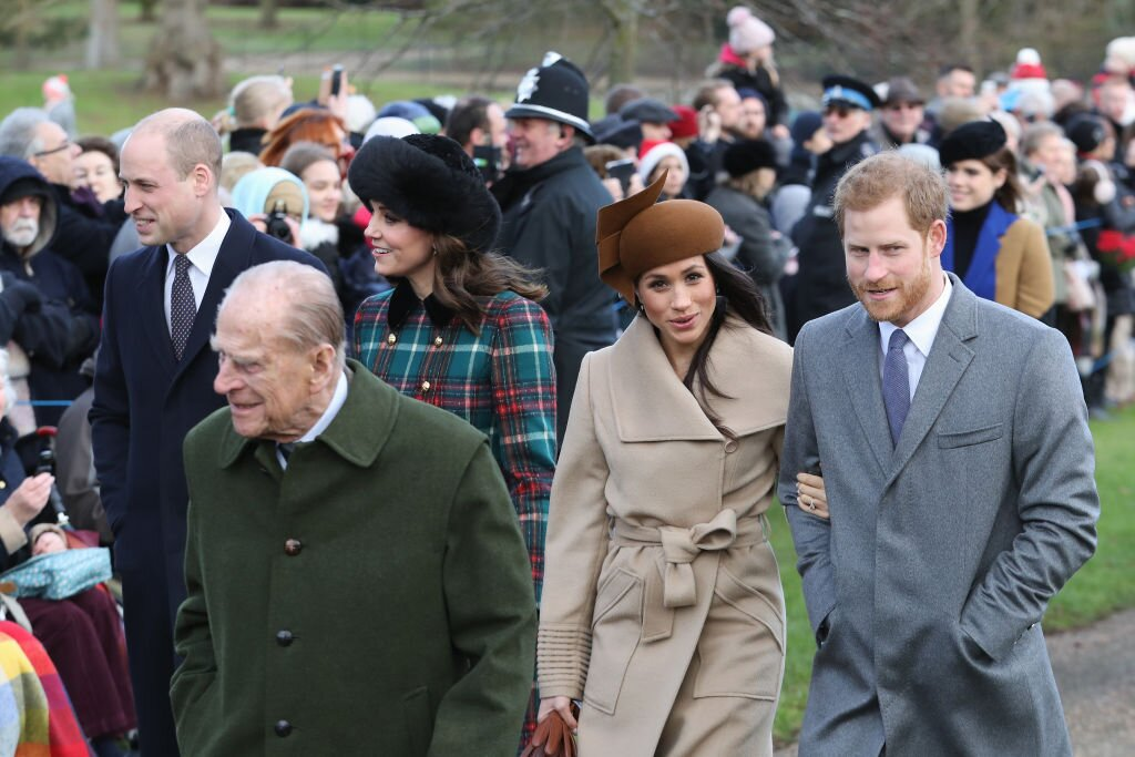 Meghan Markle Kate Middleton príncipe Felipe de Edimburgo príncipe Harry