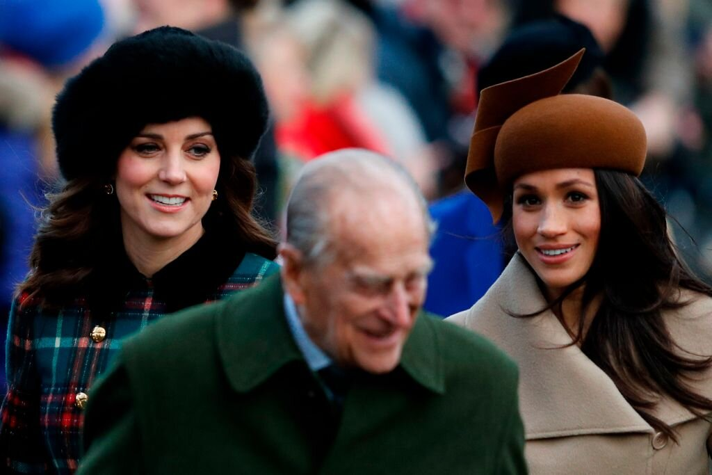 Meghan Markle Kate Middleton príncipe Felipe de Edimburgo