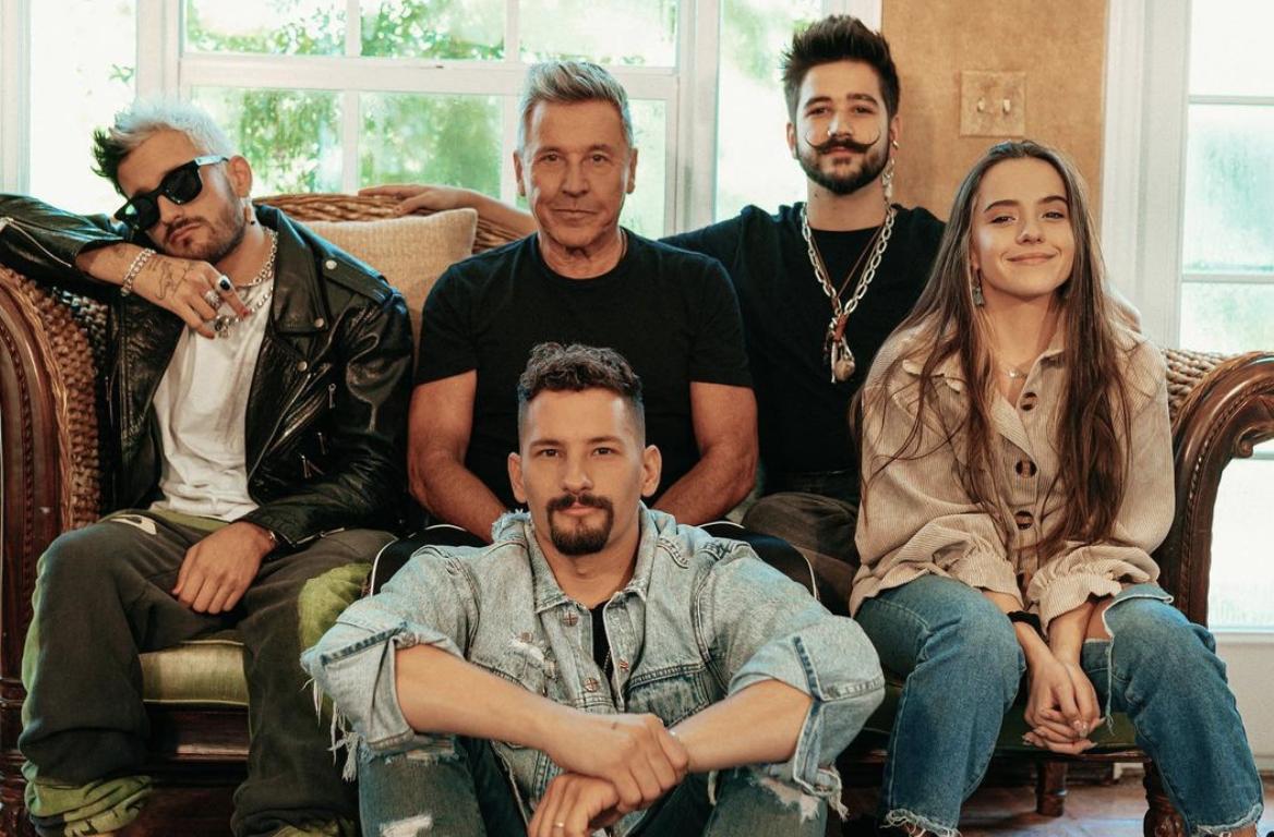 Ricardo Montaner, Camilo, Eva Luna, Mau, Ricky