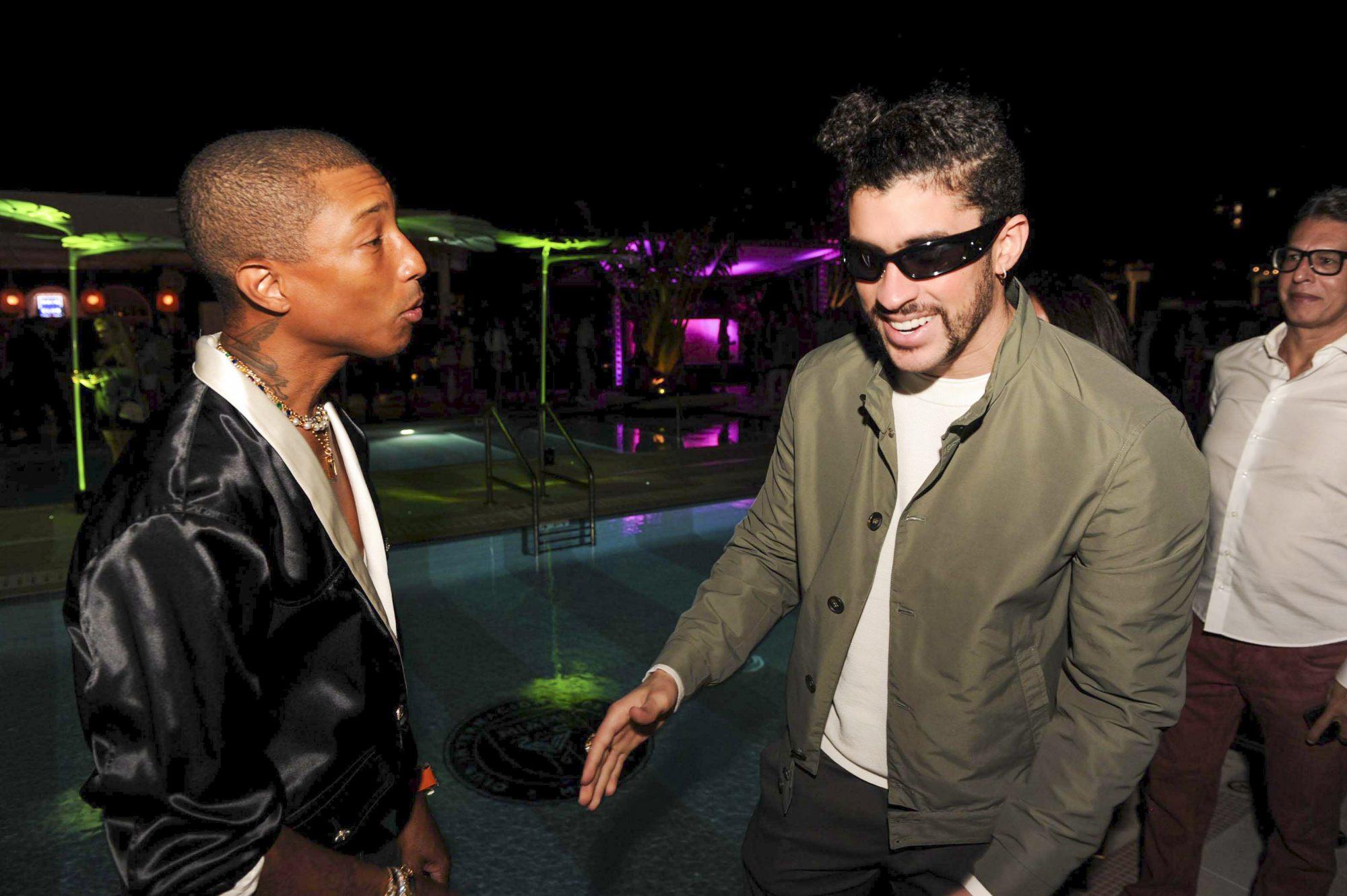 Pharrell Williams, Bad Bunny apertura hotel the goodtimes