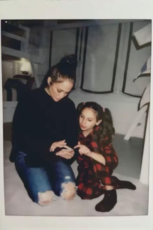 Jennifer Lopez y Ella