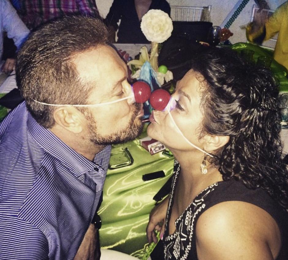 Arturo Peniche y esposa Gaby Ortíz