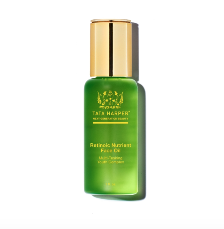 aceite facial, Retinoic Nutrient Face Oil, Tata Harper