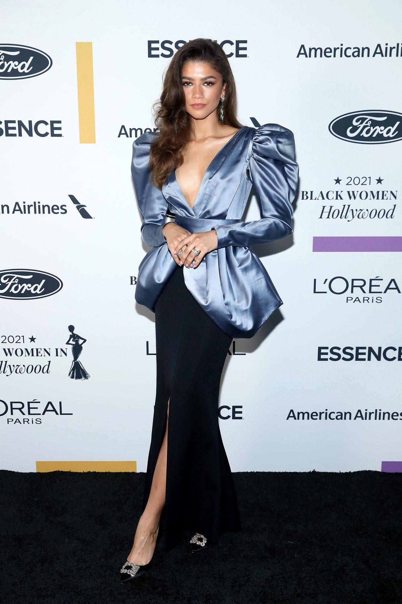 Zendaya, Essence Black Women Awards, vestido, alfombra
