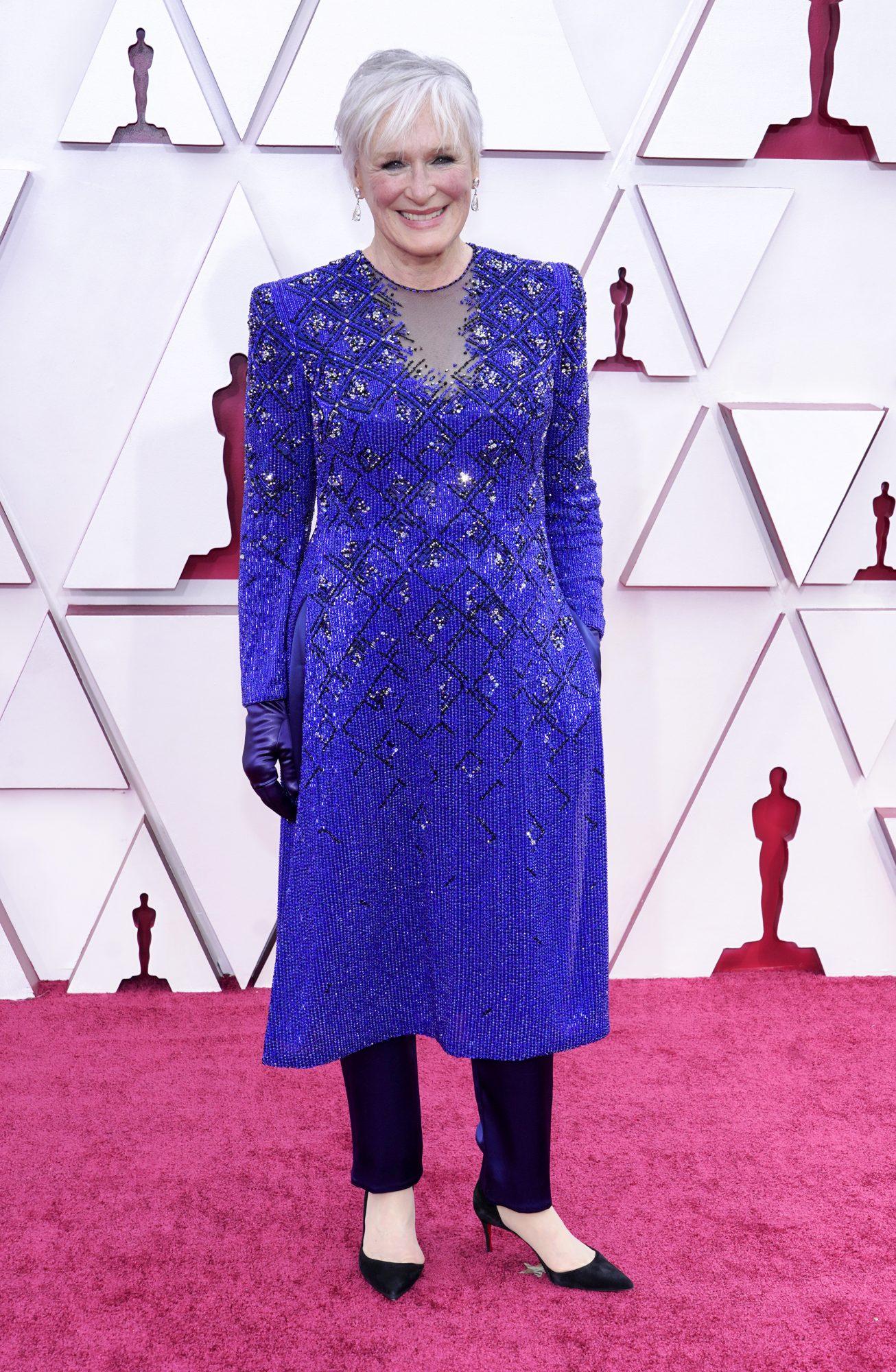 Oscars, alfombra roja, Glenn Close