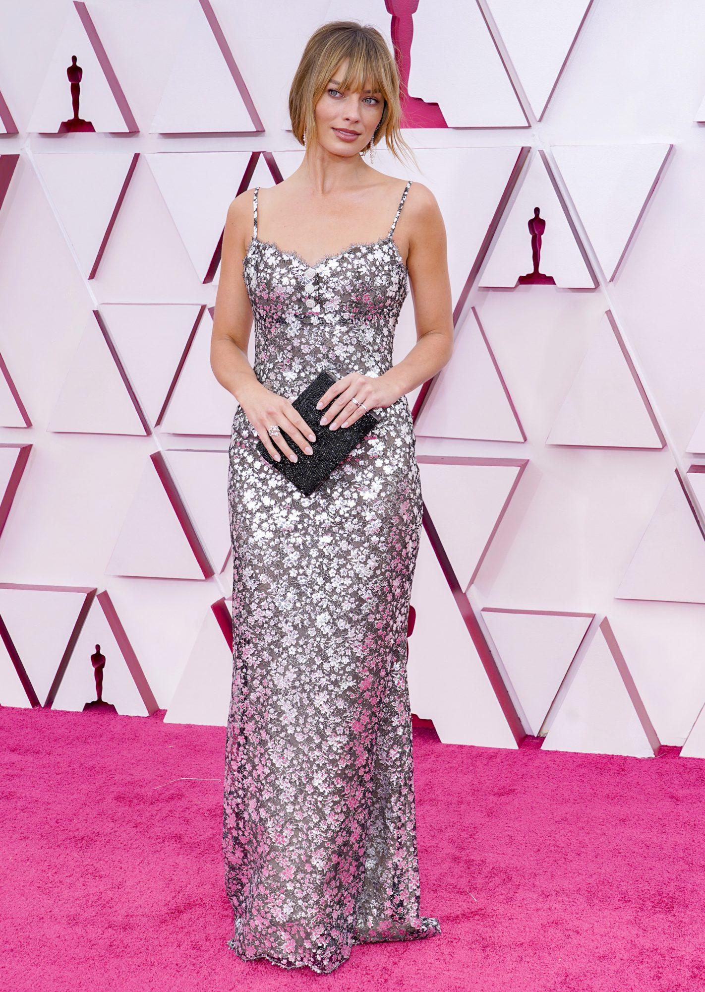 Oscars, alfombra roja, Margot Robbie