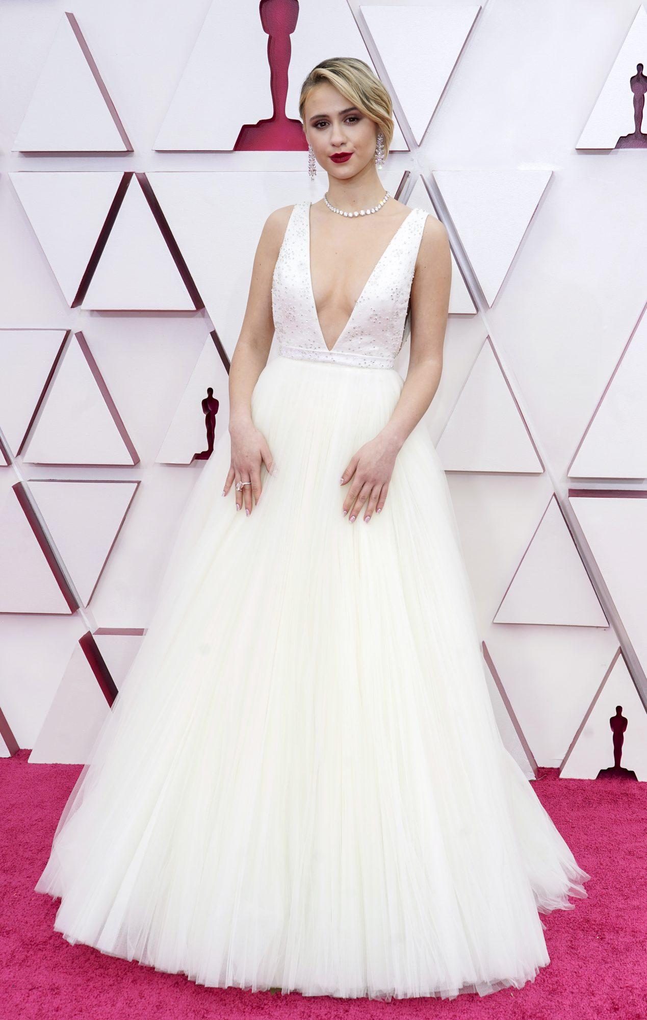 Oscars, alfombra roja, Maria bakalova