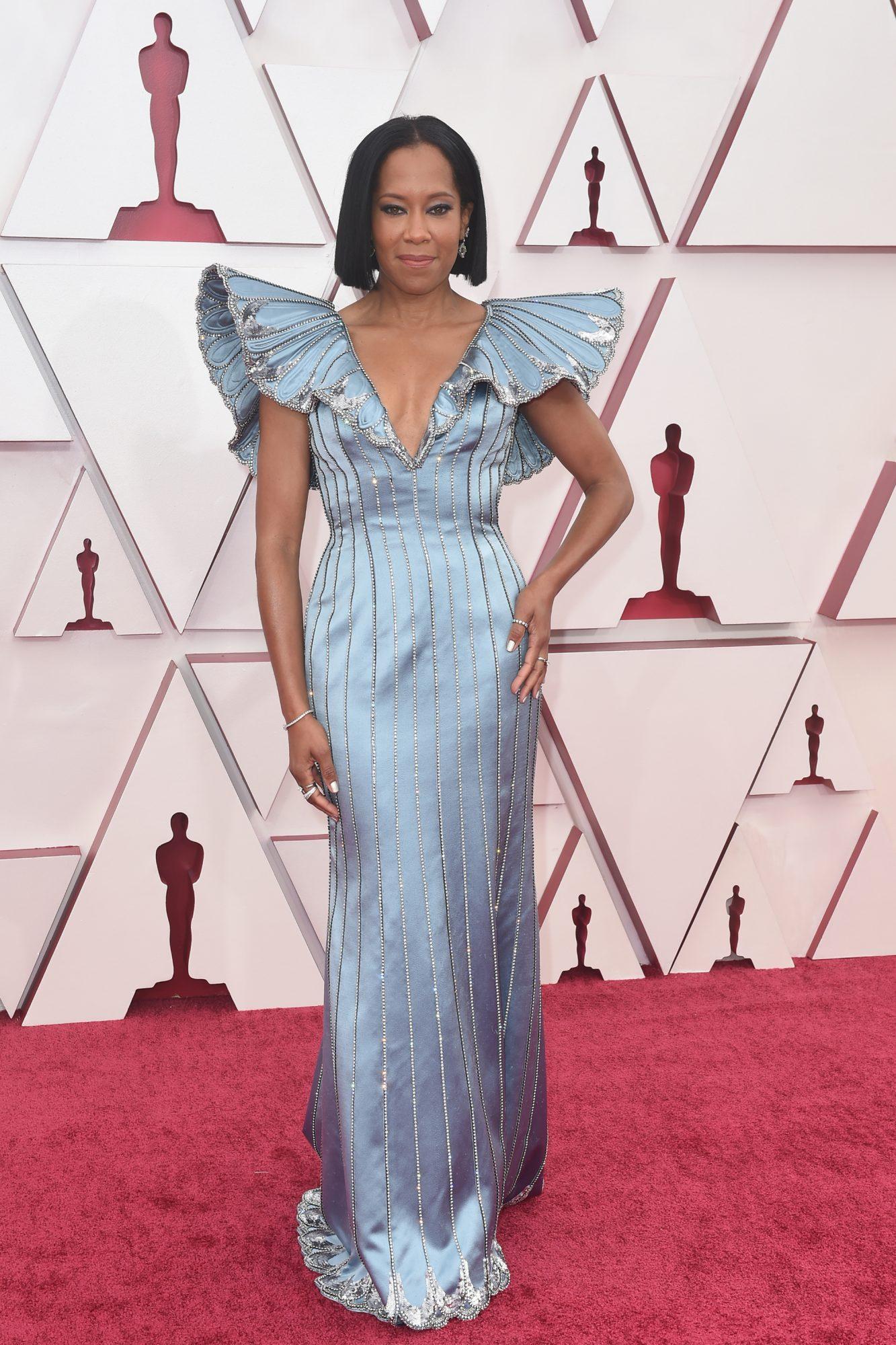 Oscars, alfombra roja, Regina King