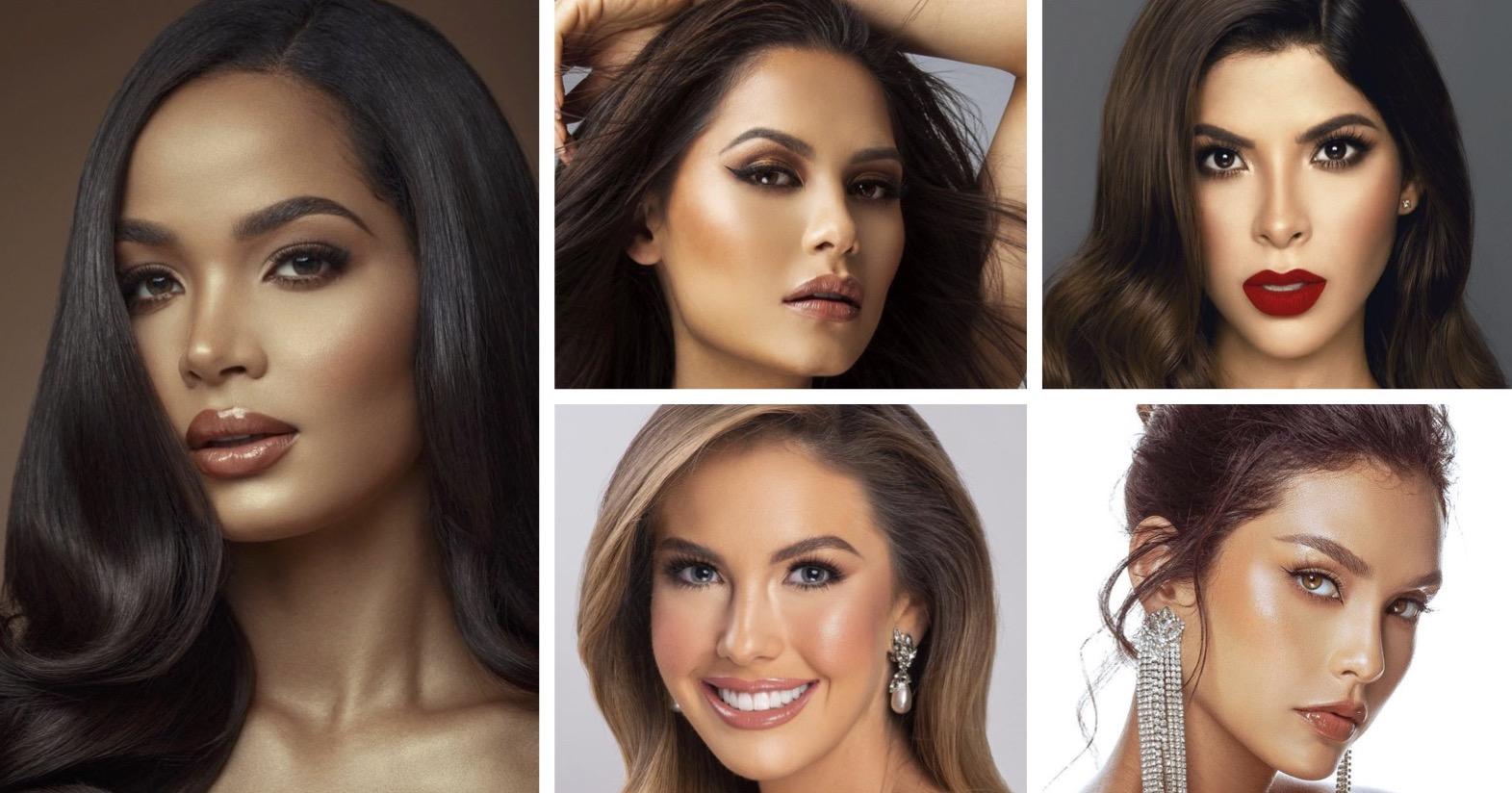 Miss Universo 2021, Miss Perú, Miss Colombia, Miss Republica Dominicana, Miss Argentina, Miss Mexico