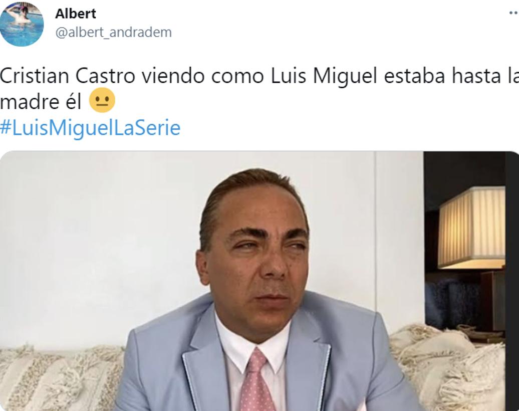 Memes Cristian castro Luis Miguel