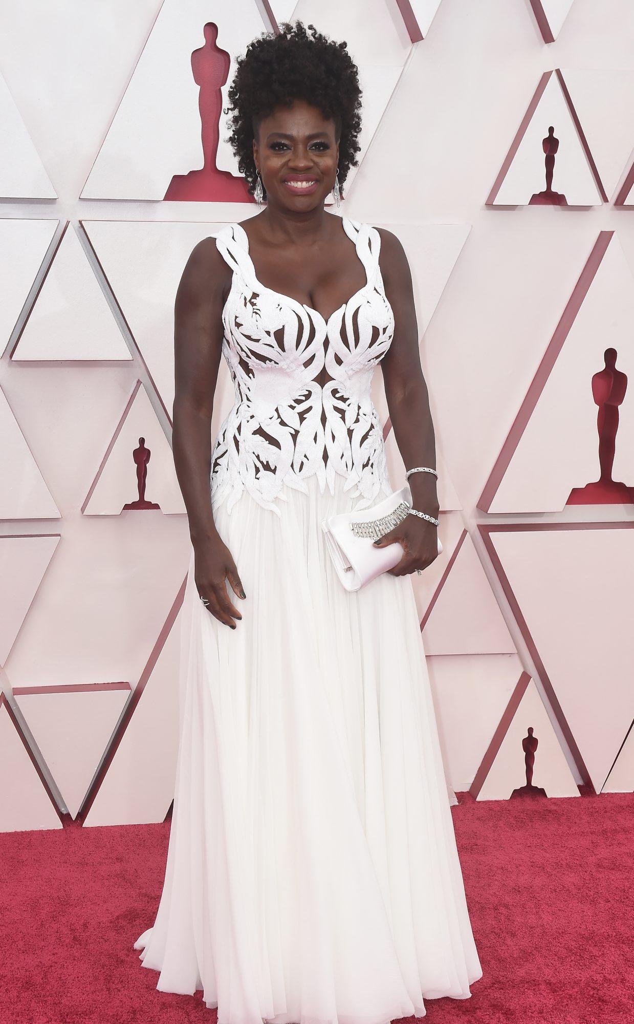 Oscars, alfombra roja, Viola Davis