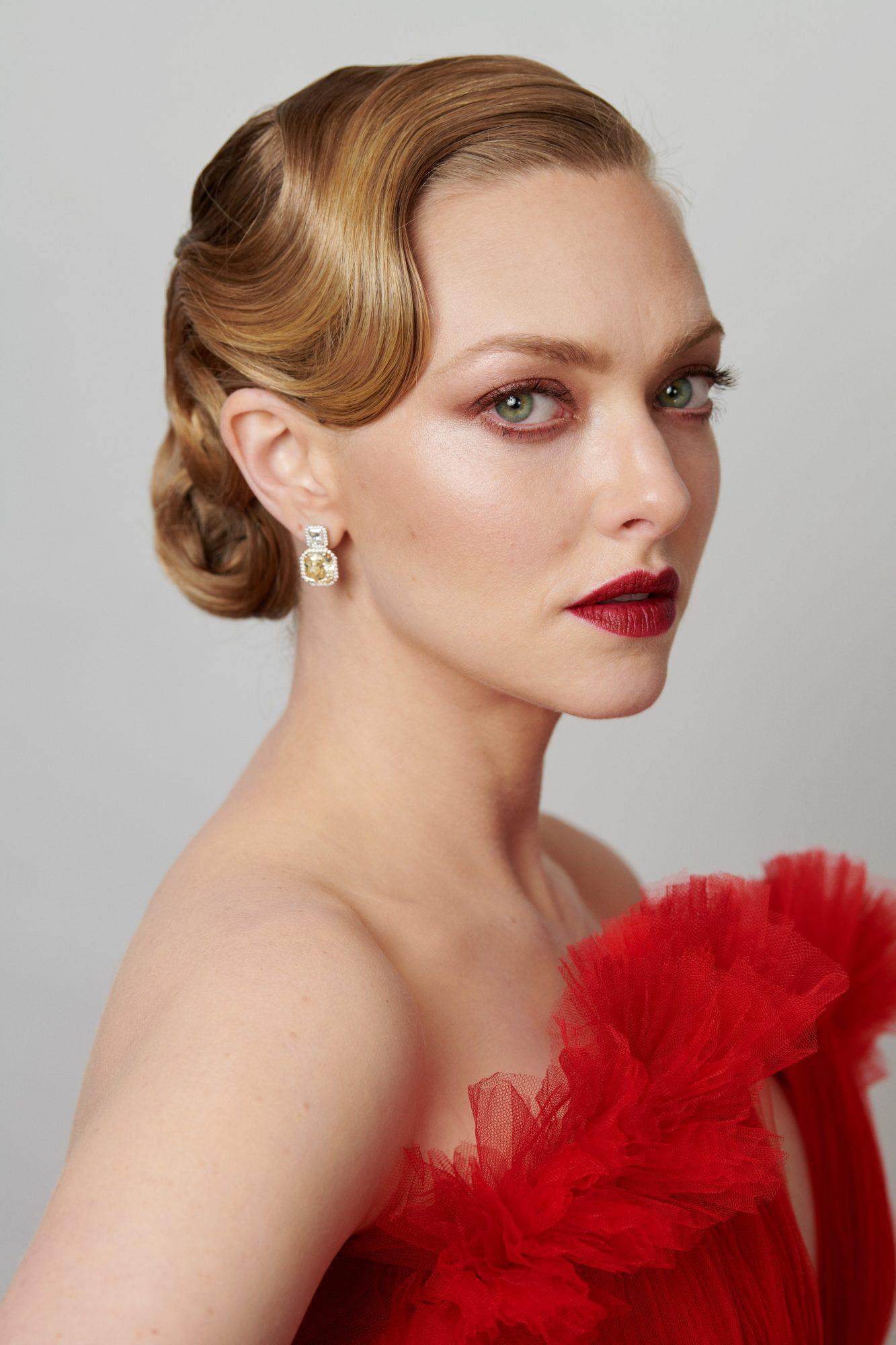 Maquillaje Oscar 2021 Amanda Seyfried
