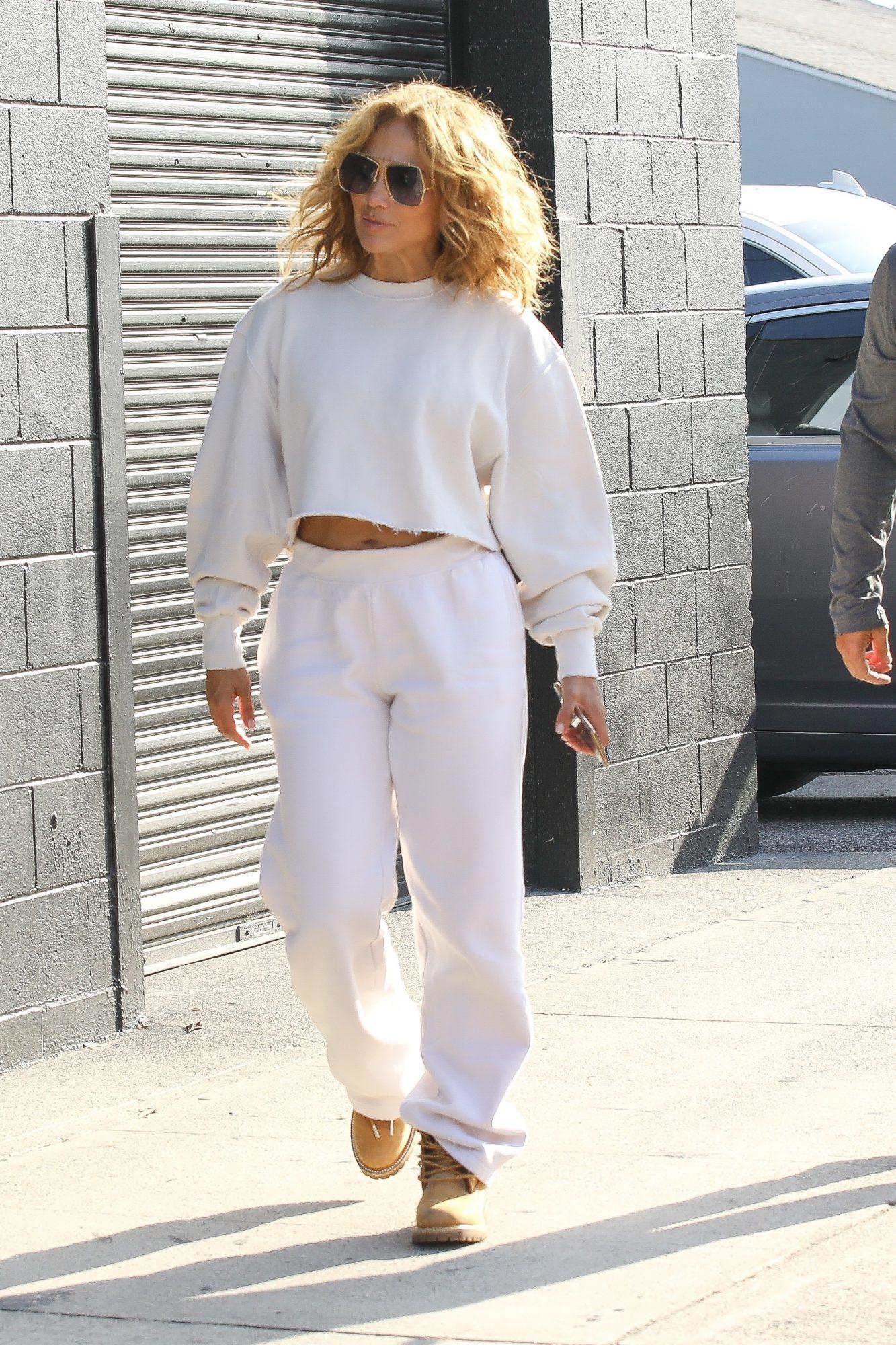 Jennifer Lopez, look del dia, look deportivo