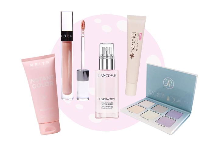 Productos belleza superluna rosa