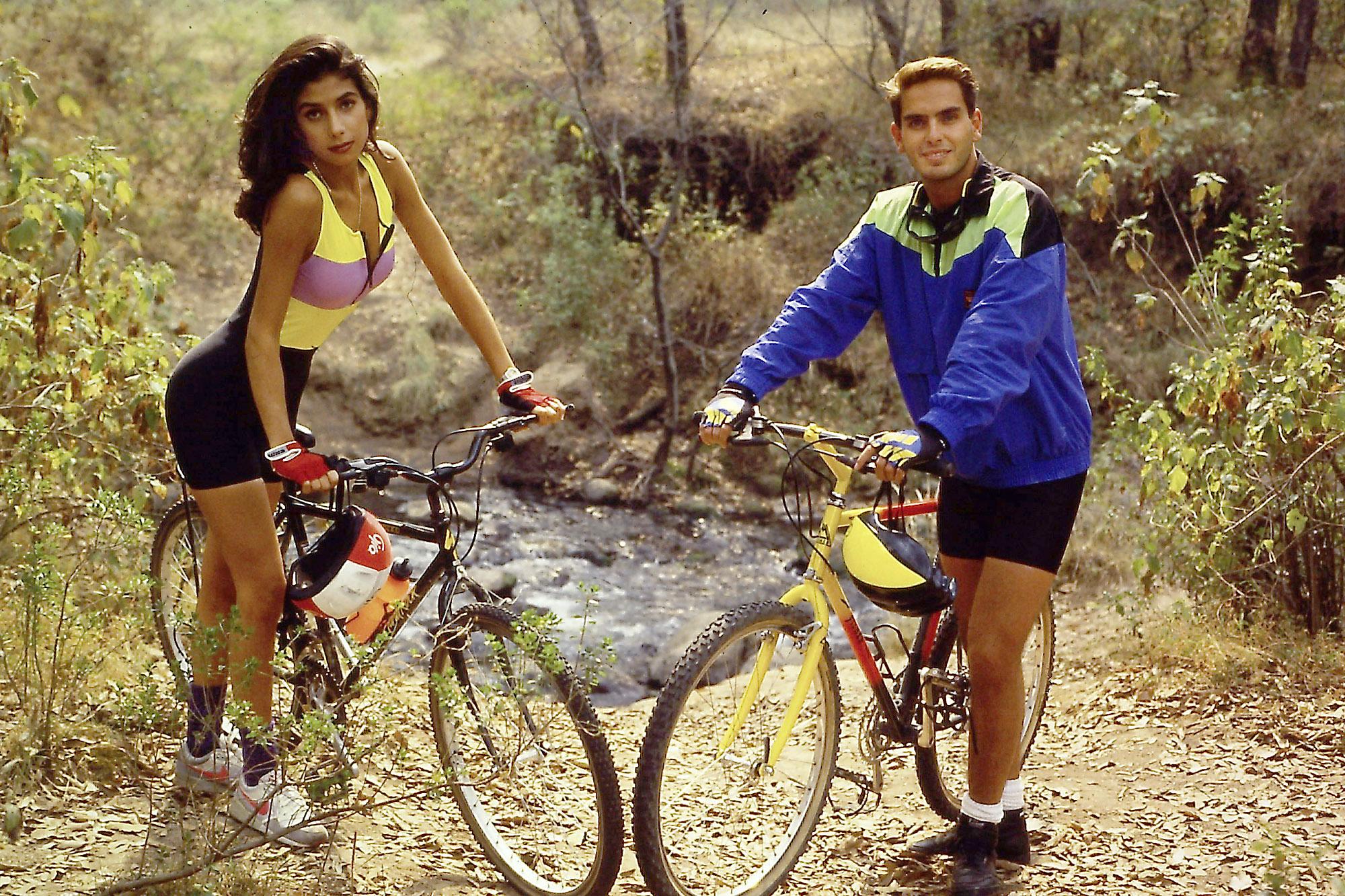 Patricia Manterola y Xavier Ortiz