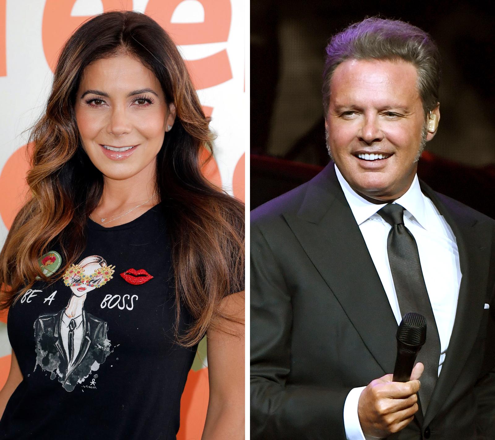 Patricia Manterola y Luis Miguel
