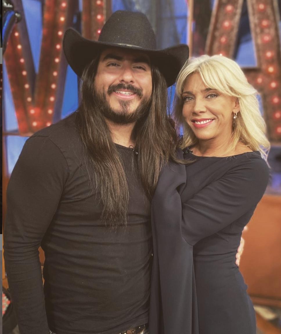 Cynthia Klitbo y Rey Grupero