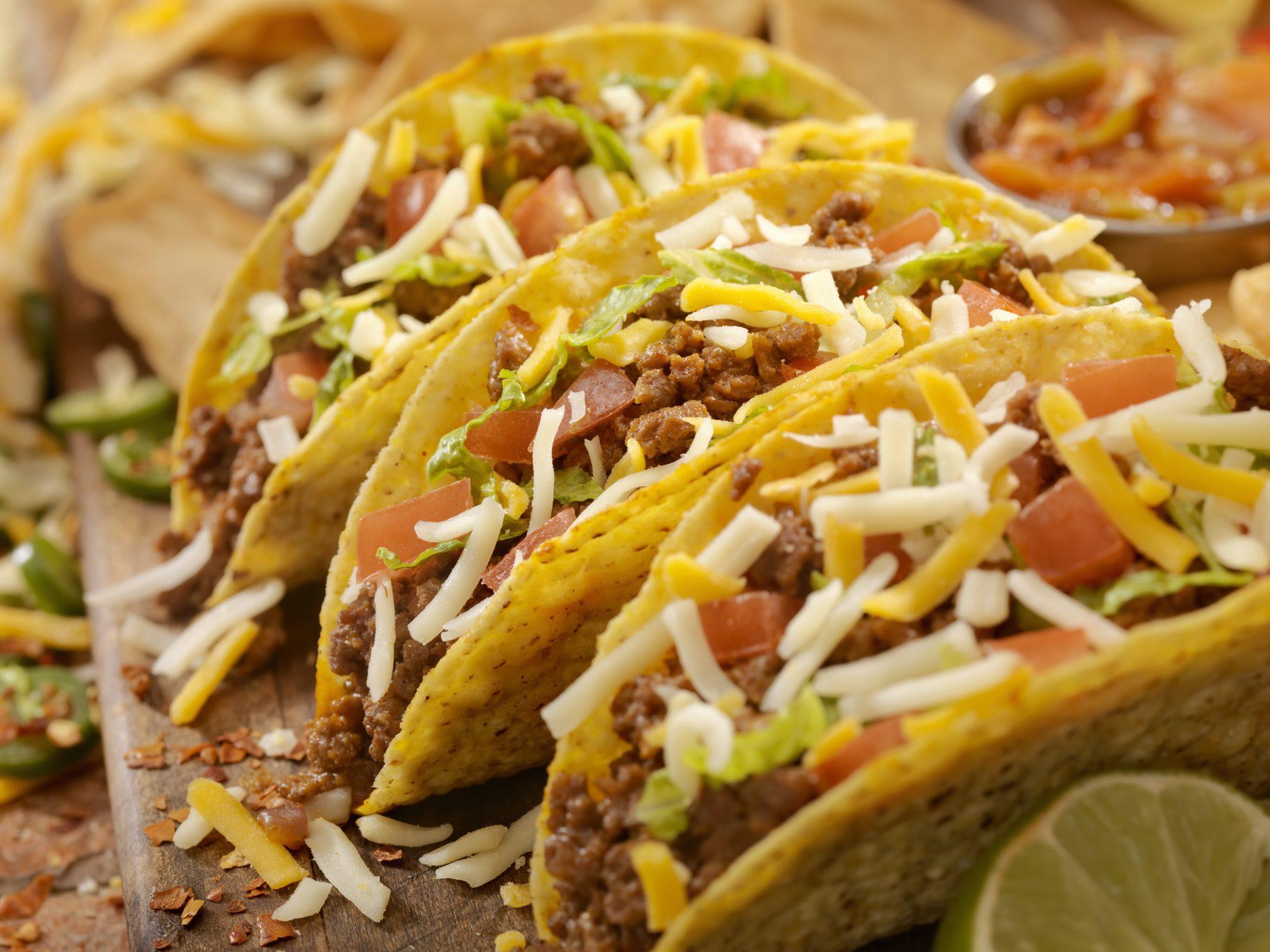Hard Beef Tacos