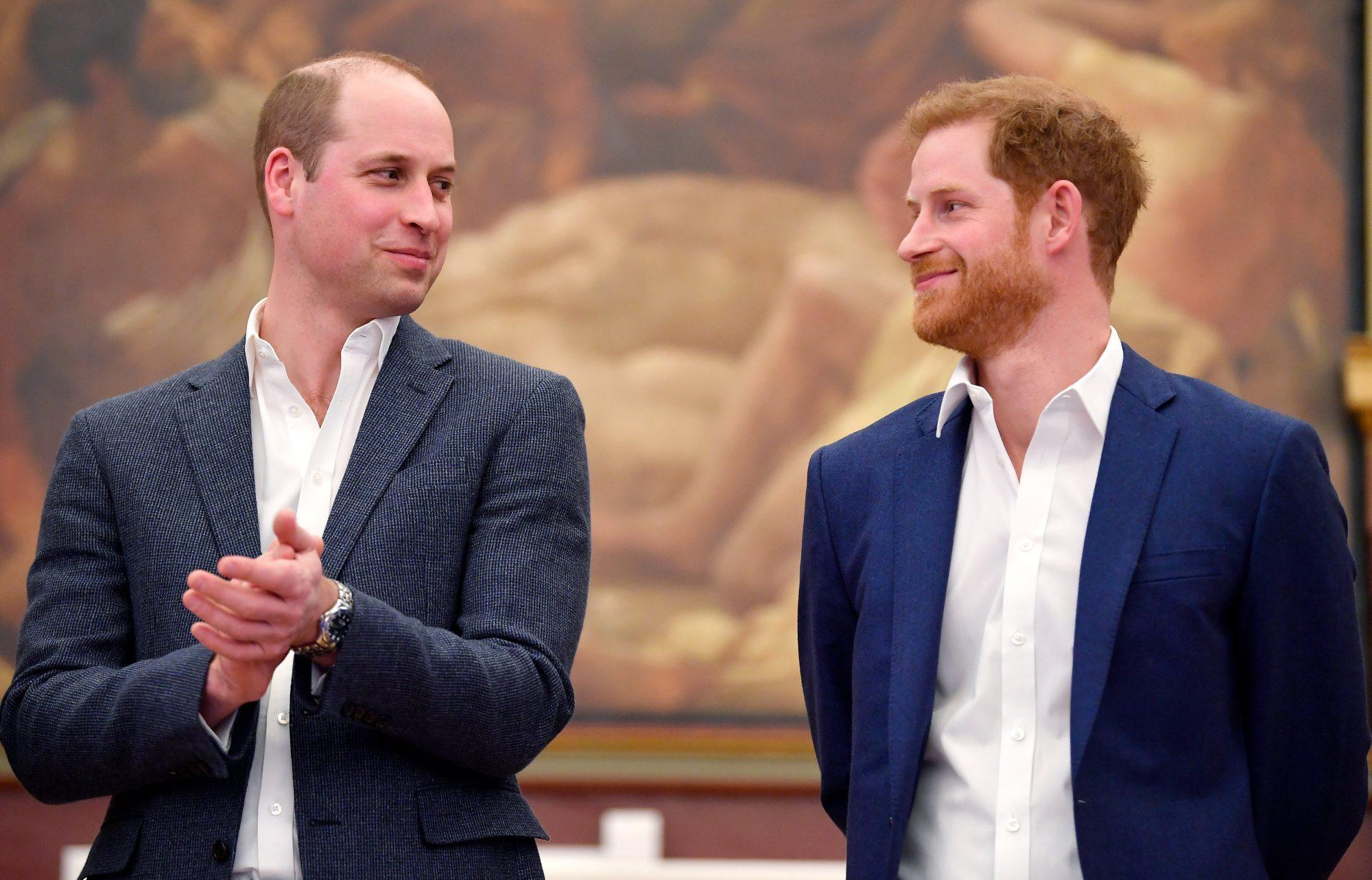 Prince William y Prince Harry