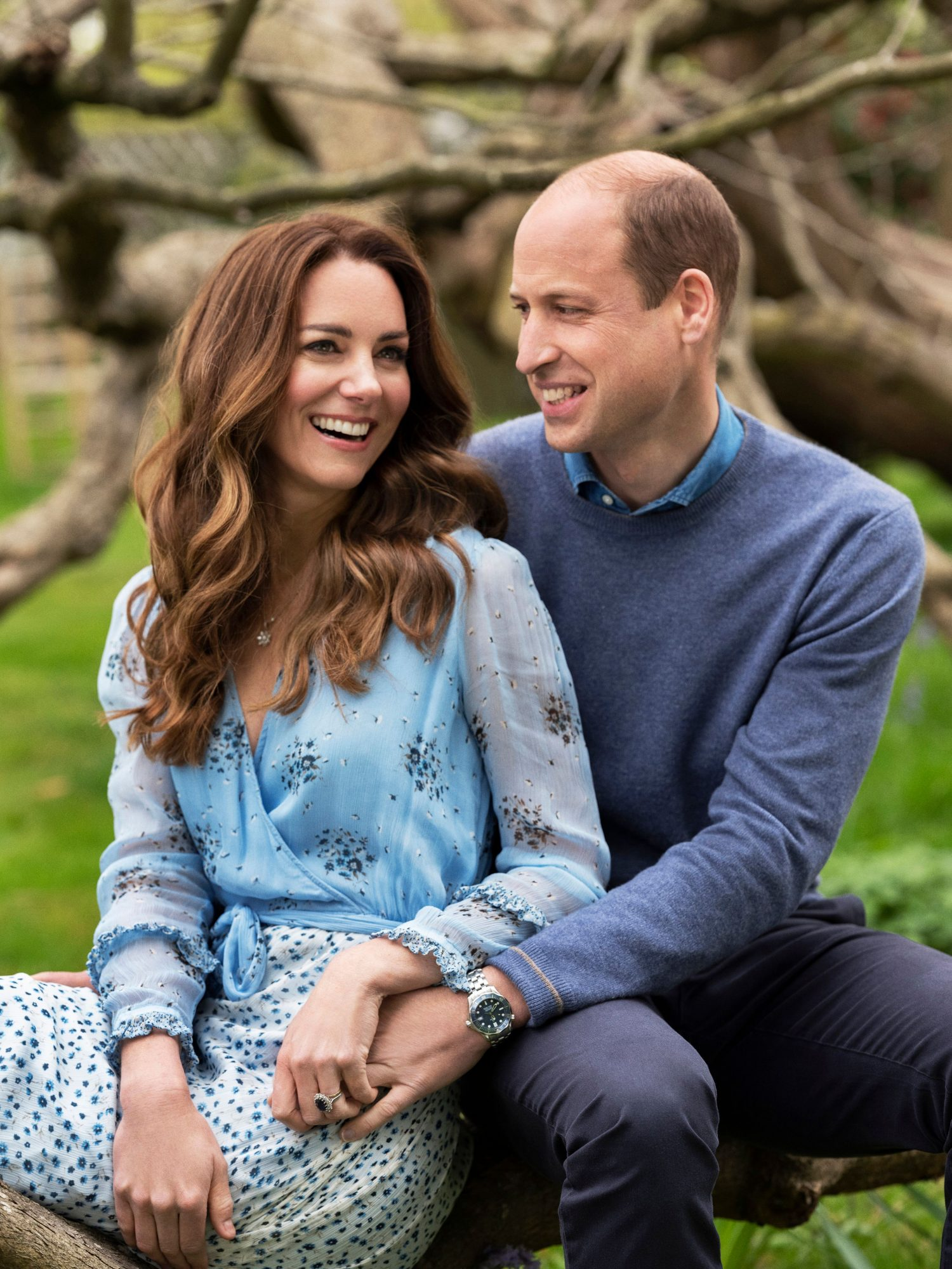 Prince William y Kate Middleton 10th Wedding Anniversary of Duke and Duchess of Cambridge, Kensington Palace, London, UK - 28 Apr 2021
