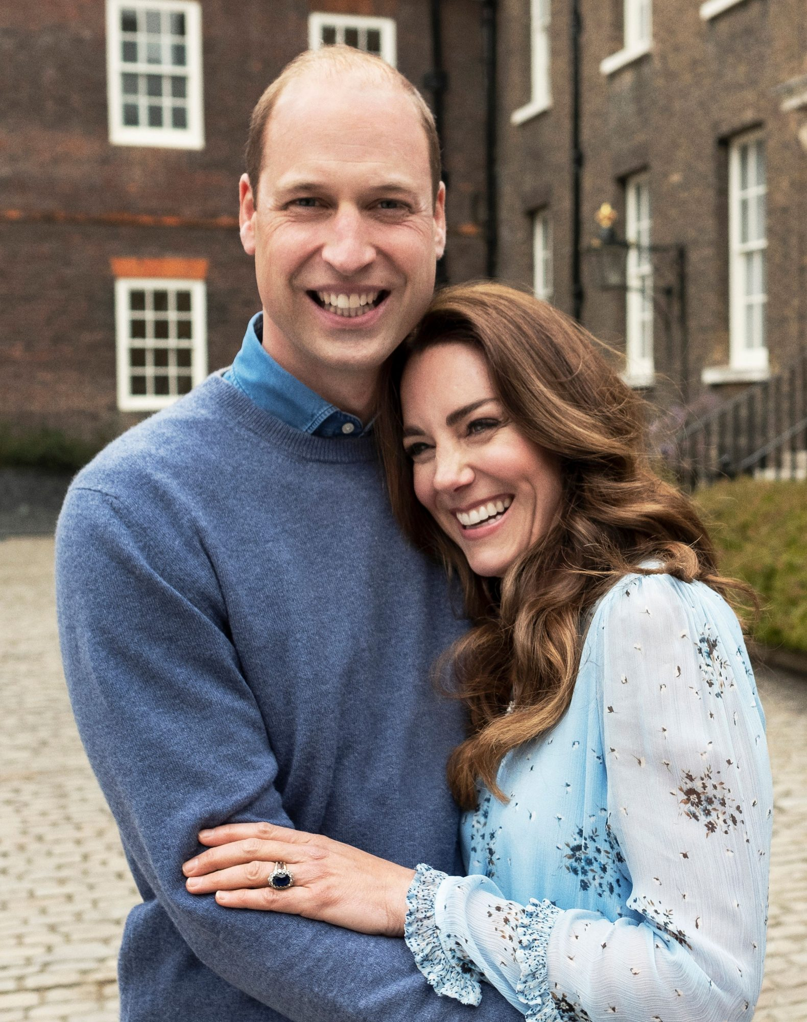 Prince William y Kate Middleton 10th Wedding Anniversary of Duke and Duchess of Cambridge, Kensington Palace, London, UK - 28 Apr 2021