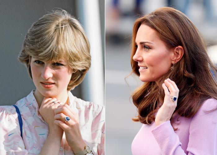 Lady Di Joyas Meghan y Kate