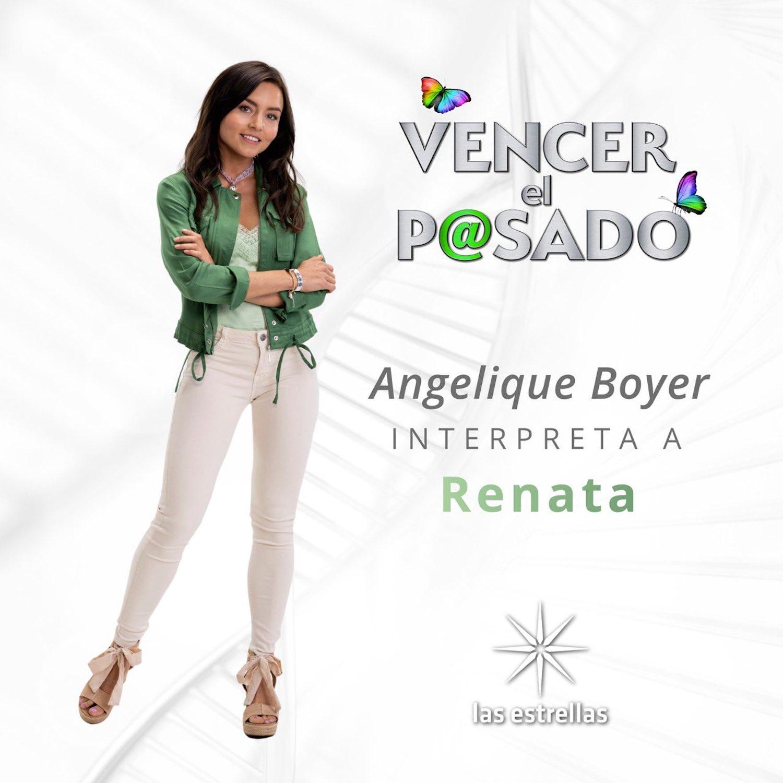 Angelique Boyer será Renata en Vencer el pasado