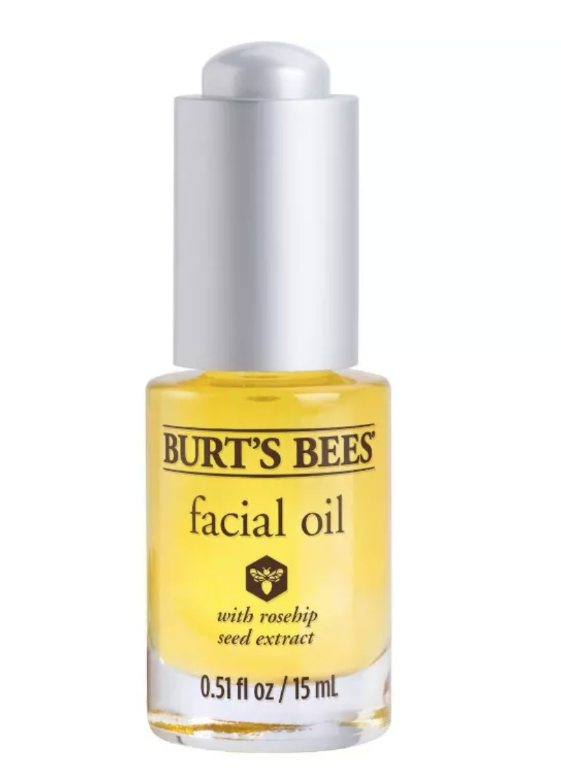 Clean beauty, Burt's Bees, aceite facial