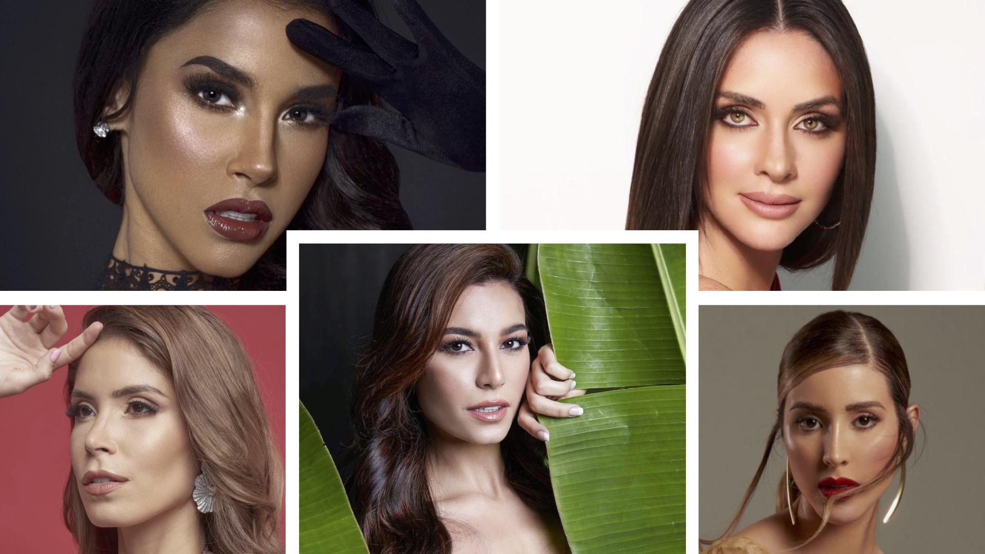 Miss Universo, reinas latinas, miss brasil, miss uruguay, miss venezuela, miss puerto rico, miss panama